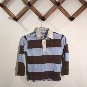 Did Too rugby style collared shirt size 7